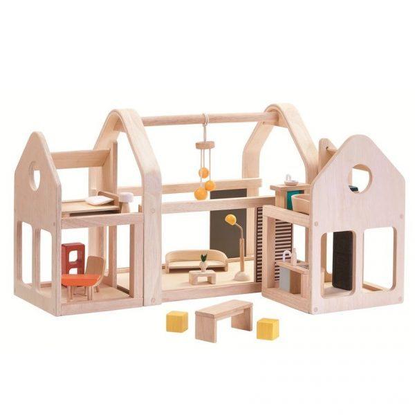 Plan Toys Slide N Go Dolls' House, £149.95, Babipur.