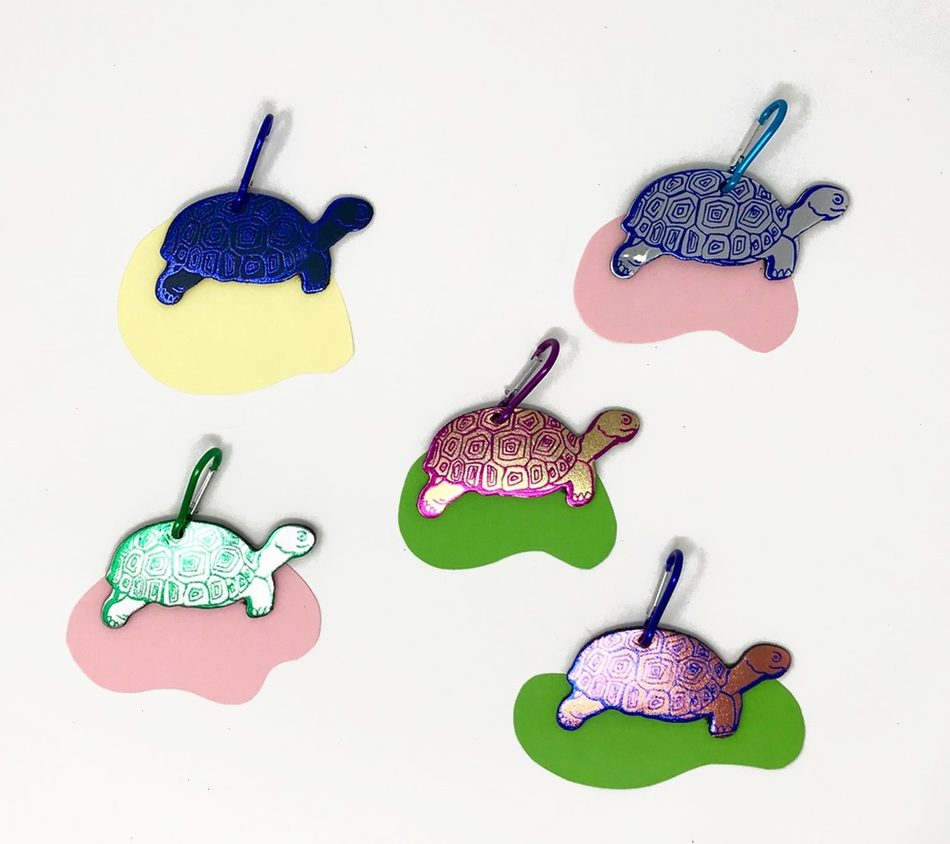 Tortoise Bag Tags