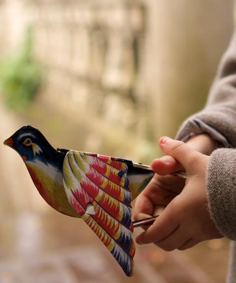 Tweeting Tin Bird
