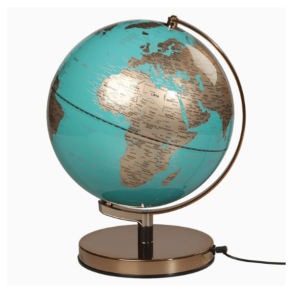 Wild & Wolf globe light, £85, After Noah.