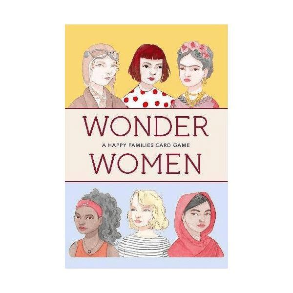 Wonder Women: A Happy Families Card Game, £9.99, Baltic.