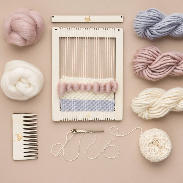 Wool Couture Weaving Loom & Kit, £20, John Lewis.