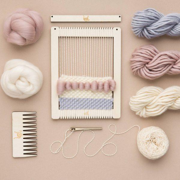 Wool Couture Weaving Loom & Kit, £20, John Lewis.