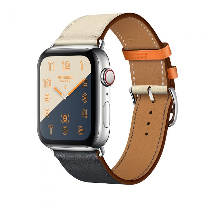 Apple Watch x Hermès Series 4, £1299, Apple.