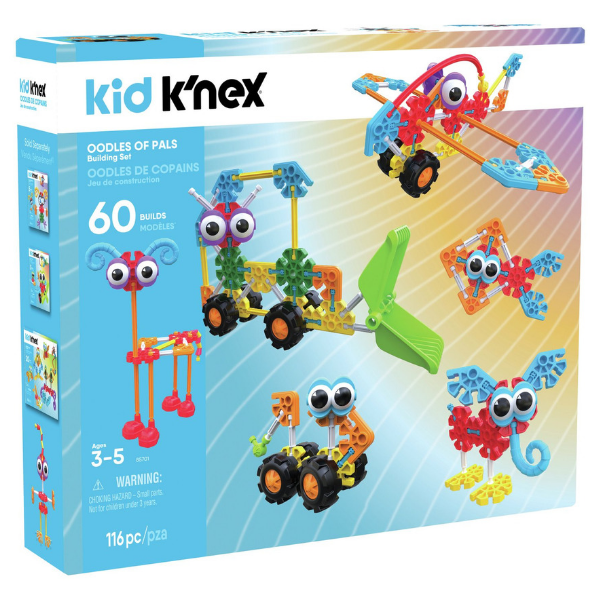 K'NEX Oodles of Pals Building Set, £25.99, Argos.