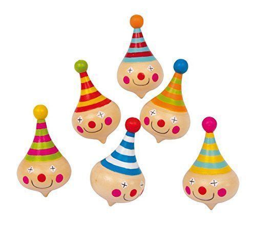 Clown Spinning Tops