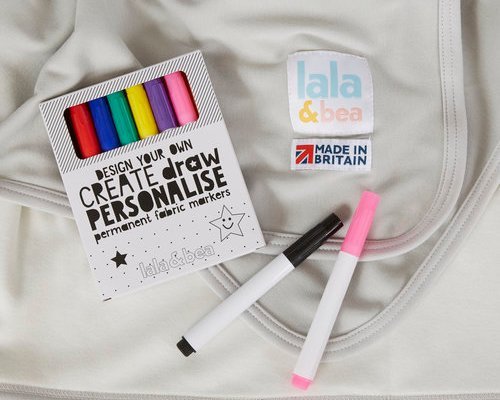Lala & Bea Design Your Own Baby Blanket