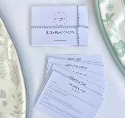 Fabulous freebie: Gather & Co baby play cards