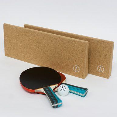 Corknet portable table tennis set