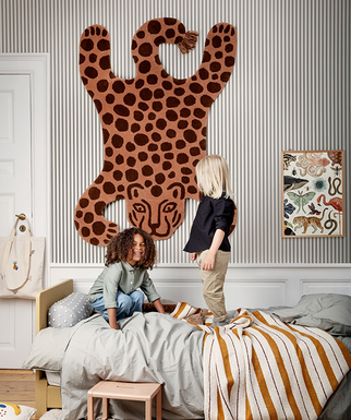 Covetable: Ferm Living animal rugs
