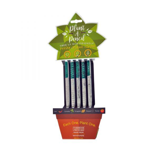 Plantable pencils, £5, ZSL Shop.