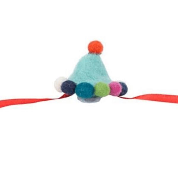 Toy felt party hat, £4.50, Berrylune.