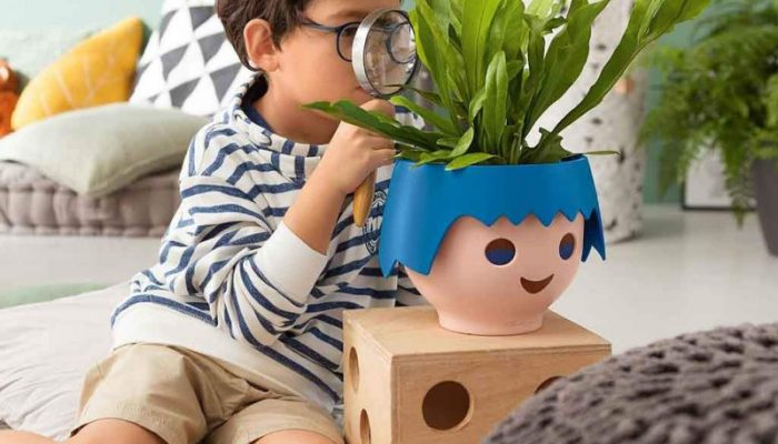 Playmobil plant pots