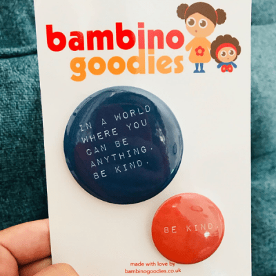 Bambino Goodies badges