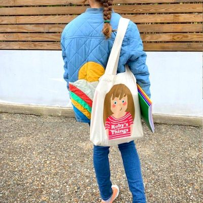 Back to school: Tootsa personalised tote bags