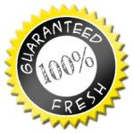 All products are guaranteed to be fresh and of the highest quality.