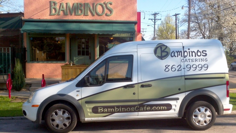 The BamMobile - Bambinos Catering Vehicle - Caterers In Springfield MO