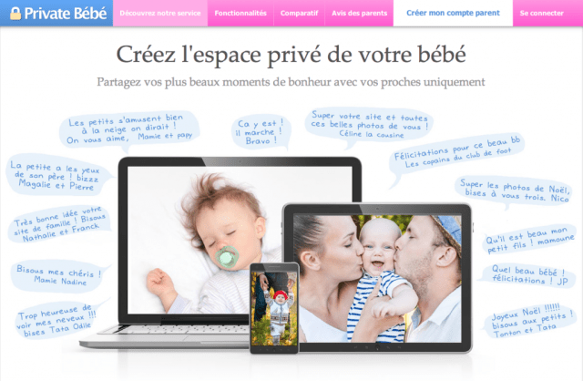 Private bébé