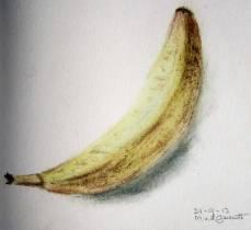 Banaan - pastel