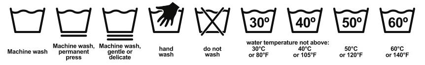 Come fare la lavatrice - Simboli Lavaggio - Lavaggio in acqua
