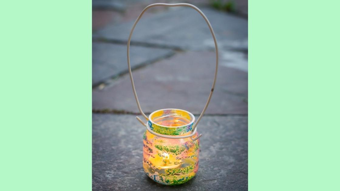 riciclo creativo barattoli vetro