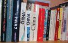 Reiseführer in meinem Bücherregal