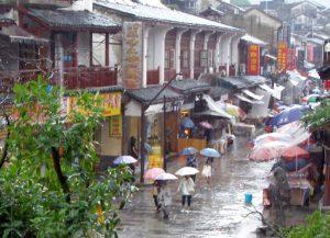 Regen in Yangshuo