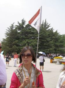 Reiseleiterin in Xi'an