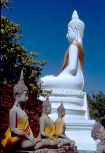 Buddhastatuen in Ayauthaya