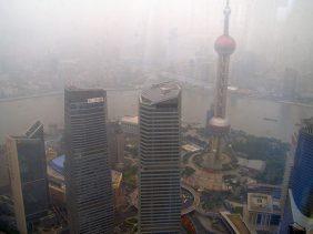 Blick vom Jinmao Hochhaus
