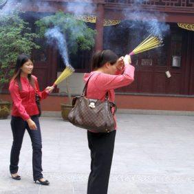 Shanghai - Tempel des Stadtgottes
