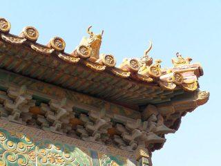 Dachfiguren in der Verbotenen Stadt