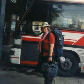 Korea 1991: Ich und mein Rucksack