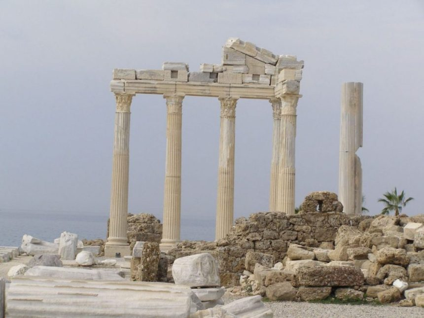 Apollotempel in Side
