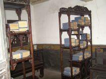 Büro mit Büchern