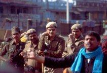 Delhi Frauentag Polizei