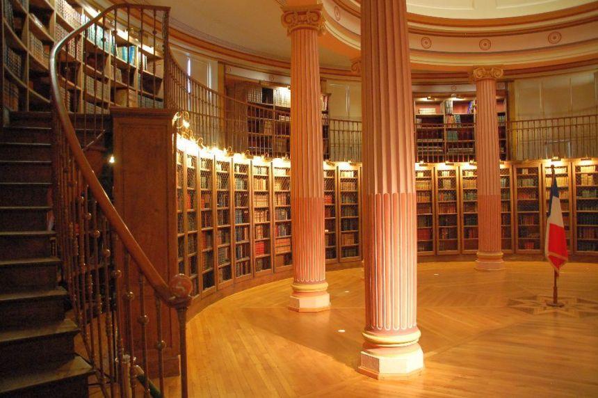 Alte Bibliothek des Musee Guimet