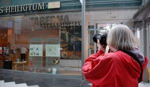 Ulrike als Reisebloggerin in Mainz unterwegs