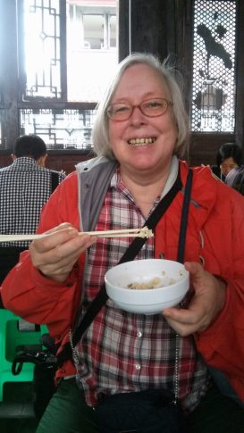 Ulrike in Chengdu