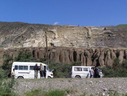 Unsere Minibusse Pamir Highway