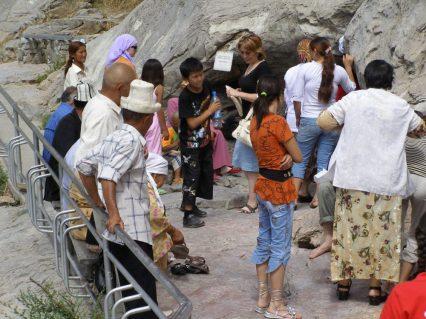 Suleiman Berg Höhle für den Kinderwunsch
