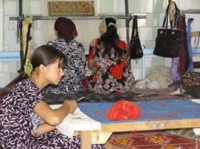 Teppiche in Margilan
