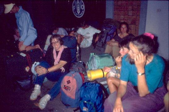 Ulrike als Backpacker 1992: Ganz bestimmt nicht als Beg-Packer unterwegs
