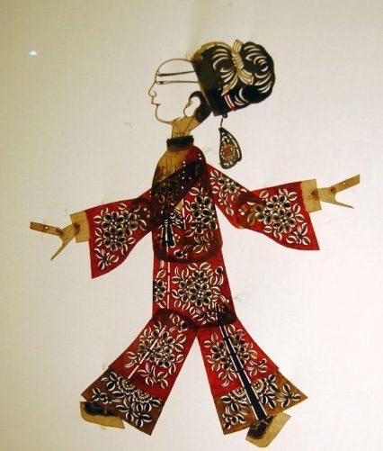 Sichuan Museum Schattenspielfigur 2