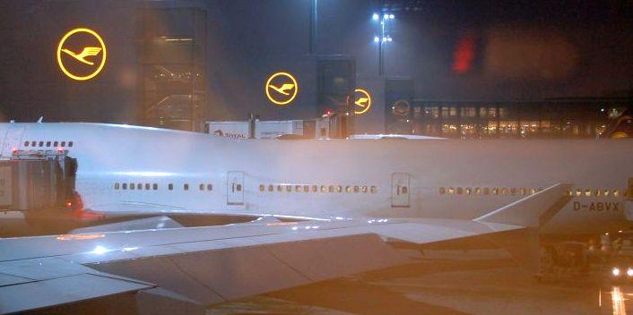 Nach China mit Lufthansa