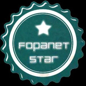 badge fopanet star 305 - Schmetterlinge in China