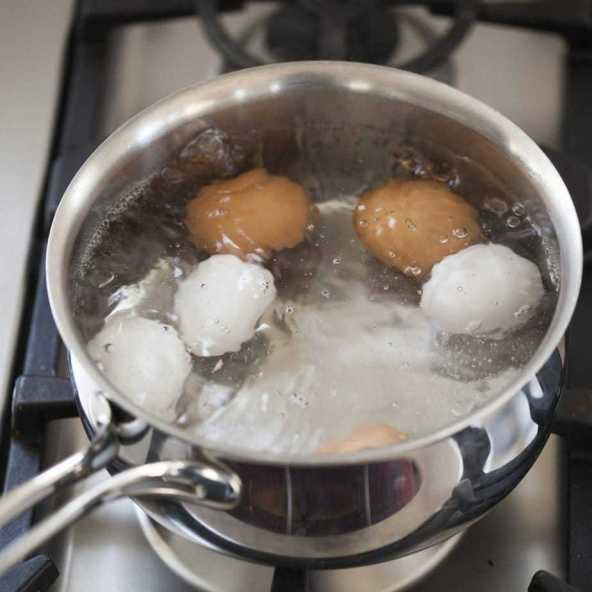 How to cook hard boiled eggs