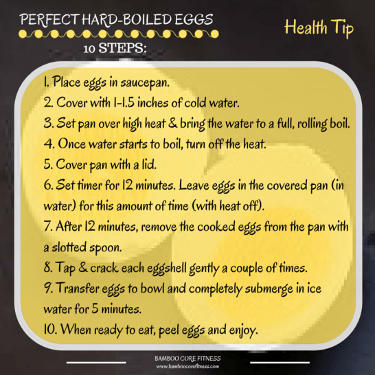 How to make perfect hard-boiled eggs