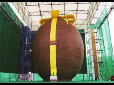 World's Largest Chocolate Egg