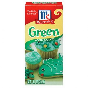 McCormick Green Food Coloring